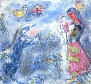 The Homage -- by Marc Chagall